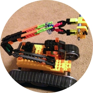 K'nex is the hardest toy to put together