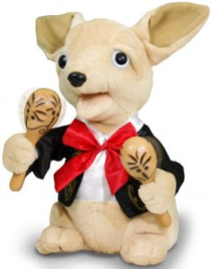 product picture Chuey Bamba the Singing Chihuahua
