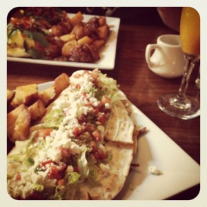 Weekend brunch at Marathon Grill