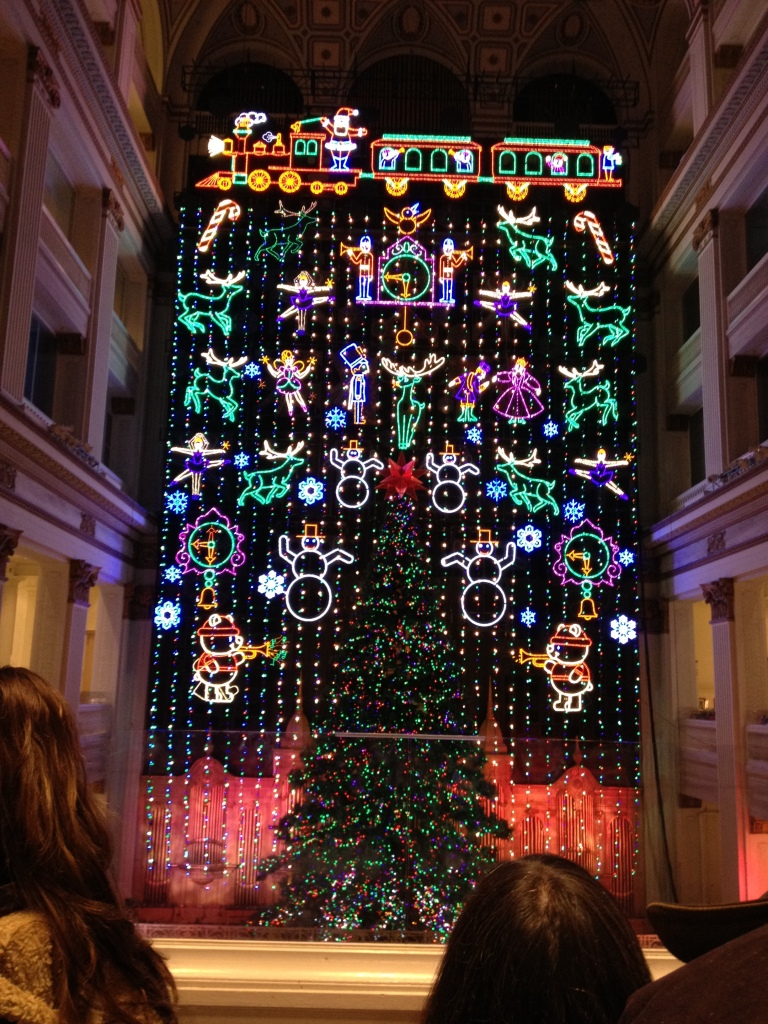 Macy's Christmas Light Show Philadelphia
