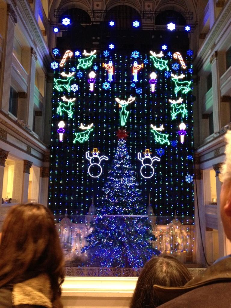 Macy's Christmas Light Show Philadelphia
