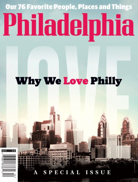 philadelphia magazine december 2012