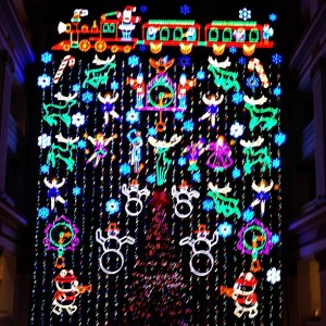 philadelphia macy's christmas holiday light show in philly