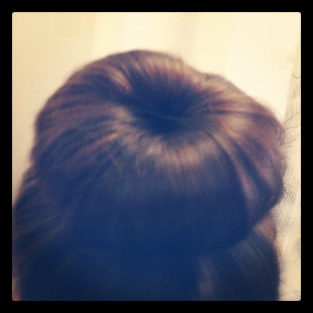 the perfect sock bun her philly