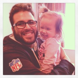 Jordan and baby Caroline