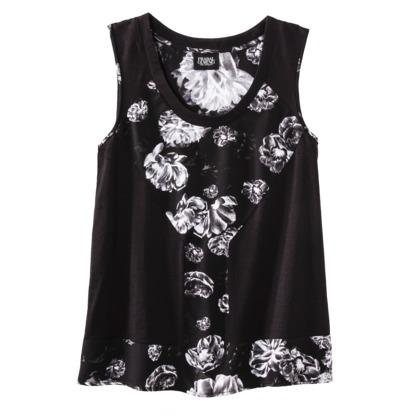 Prabal Gurung For Target® Scoop Neck Tank Top in Meet The Parents Print