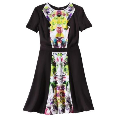 Prabal Gurung For Target® Short-Sleeve Dress in First Date Print