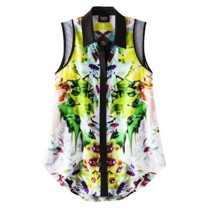 Prabal Gurung For Target® Sleeveless Blouse in First Date Print