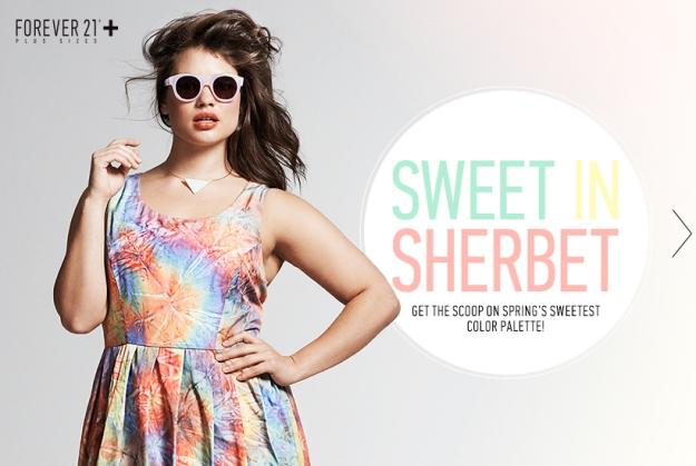 Forever 21+ Sweet in Sherbet Wishlist