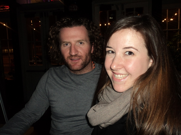 Emily Tharp of Her Philly meets Philadelphia Flyers Player Scott Hartnell