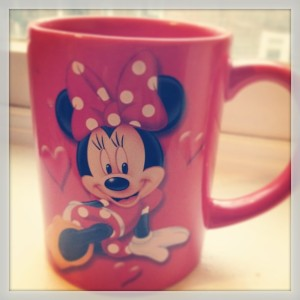 Minnie Mouse mug via Her Philly