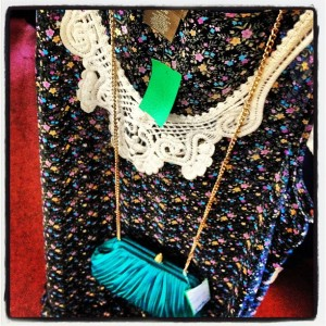 Vintage finds at Wardrobe Boutique in Philadelphia via Her Philly