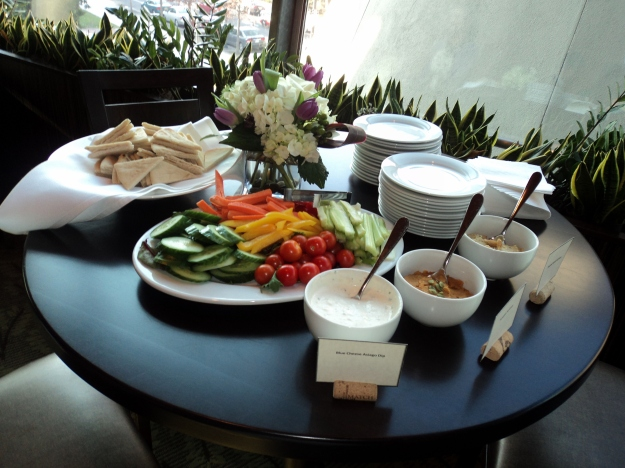 Food from Harvest Seasonal Grill & Wine Bar during the HBO Game of Thrones #WesterosVIP event in Philadelphia / Her Philly