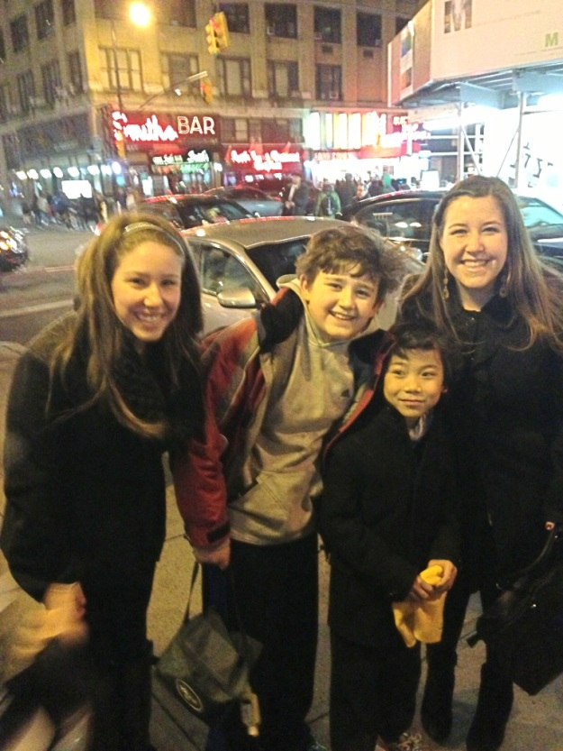 Meeting the child stars of Matilda on Broadway, Jack Broderick & Ted Wilson