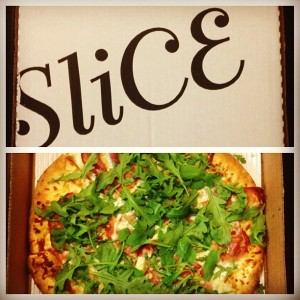 Pizza from SliCE Philadelphia / Her Philly
