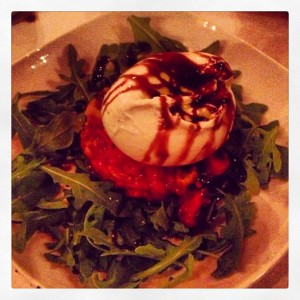 Yummy mozzarella  appetizer at Salento Philadelphia / Her Philly