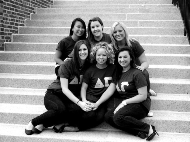 Sisters of the Zeta Chi Chapter of Delta Gamma / Her Philly