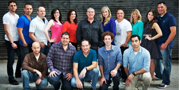 Elvis Duran and the Morning Show cast photo