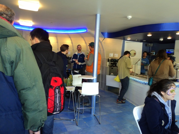 Inside The Igloo Frozen Yogurt & Froyo shop at 22nd & Grays Ferry Avenue in Philadelphia / Her Philly
